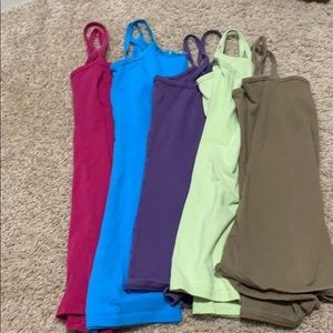 Lot of 5 tank tops from buckle